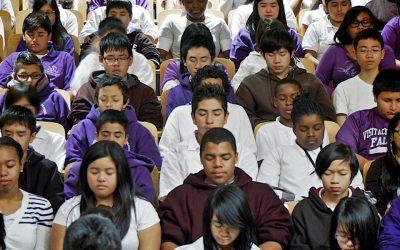 A Transzcendentális Meditáció csökkenti az iskolai stresszt